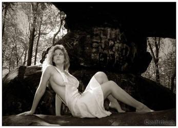 jenna on the rock by scottchurch