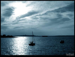 maine sunset by scottchurch