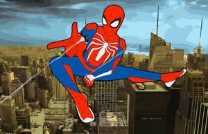 PS4 Spiderman by FrostbiteWhiteKnight