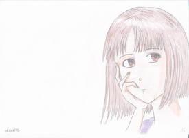 Eiko Portrait by manga-DH