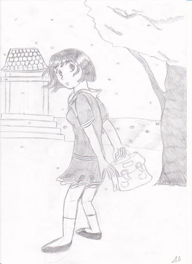Etudiante by manga-DH