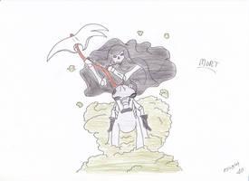 Mort by manga-DH