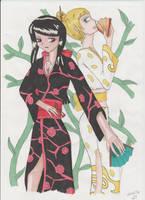 Kimonos by manga-DH