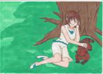 Yoshiko Sleeping by manga-DH