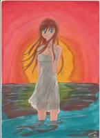Sunset by manga-DH