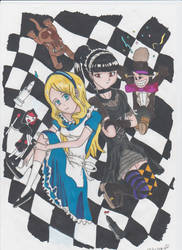 Alicecelia by manga-DH