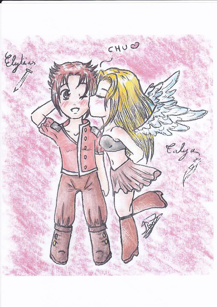 Elytias Talya by manga-DH