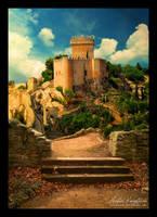 Sunset Castle by plutoplus1