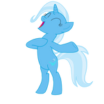 MLP Vector - Trixie's Jungle Yell by OptimusV42