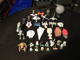 My Micro Machines Star Wars Collection - 1 by OptimusV42