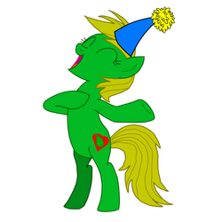 MLP Vector - MLP OC - Jungle Heart - 6 (Party) by OptimusV42