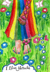 I Love Nature [Practice Doodle] by Meztli72