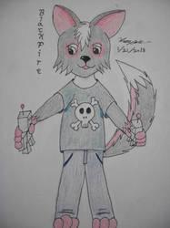 Blackfire Fox - Kid by BloodWolf19
