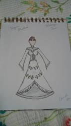 Holiday dress: Virgin mistletoe by thebalancer20