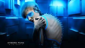 Cyborg Punk by djaledit