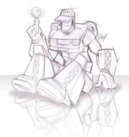 C.A.B. relaxin' - sketch by Lizkay