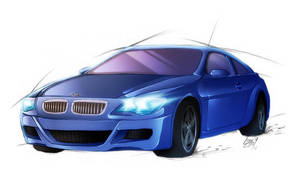 BMW M6 Coupe by Lizkay