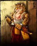 Urban Tiger Warrior by Lizkay