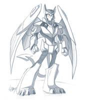 TFA - Lazerwing Sketch by Lizkay