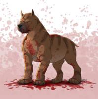 DA - Mabari War Dog by Lizkay