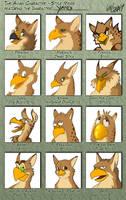 Avian Style Meme - Yang by Lizkay