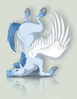 Crashed Pegasus - PT Contest by Lizkay