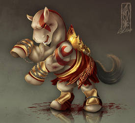 My Little Kratos by Lizkay