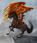 Flag Bearer by Lizkay