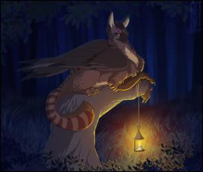 Lantern Duty by Lizkay