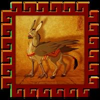 - Donkey Gryphon - by Lizkay