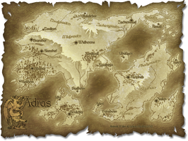 Map of Aedras by Lizkay