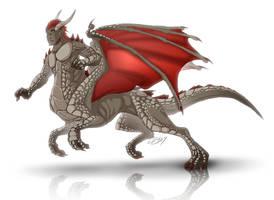 Rurik - Dragontaur by Lizkay