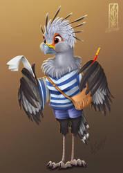 Zootopia - Lizzy Bird by Lizkay