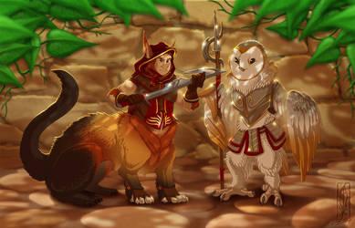 Little Warriors by Lizkay