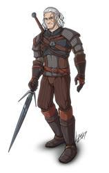 - Geralt - by Lizkay