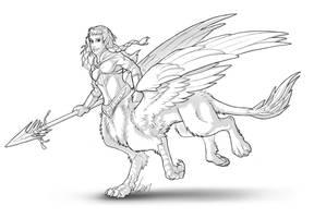 FB Raffle Winner Sketch by Lizkay