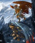 Mountain Watch - Naturama Commission by Lizkay