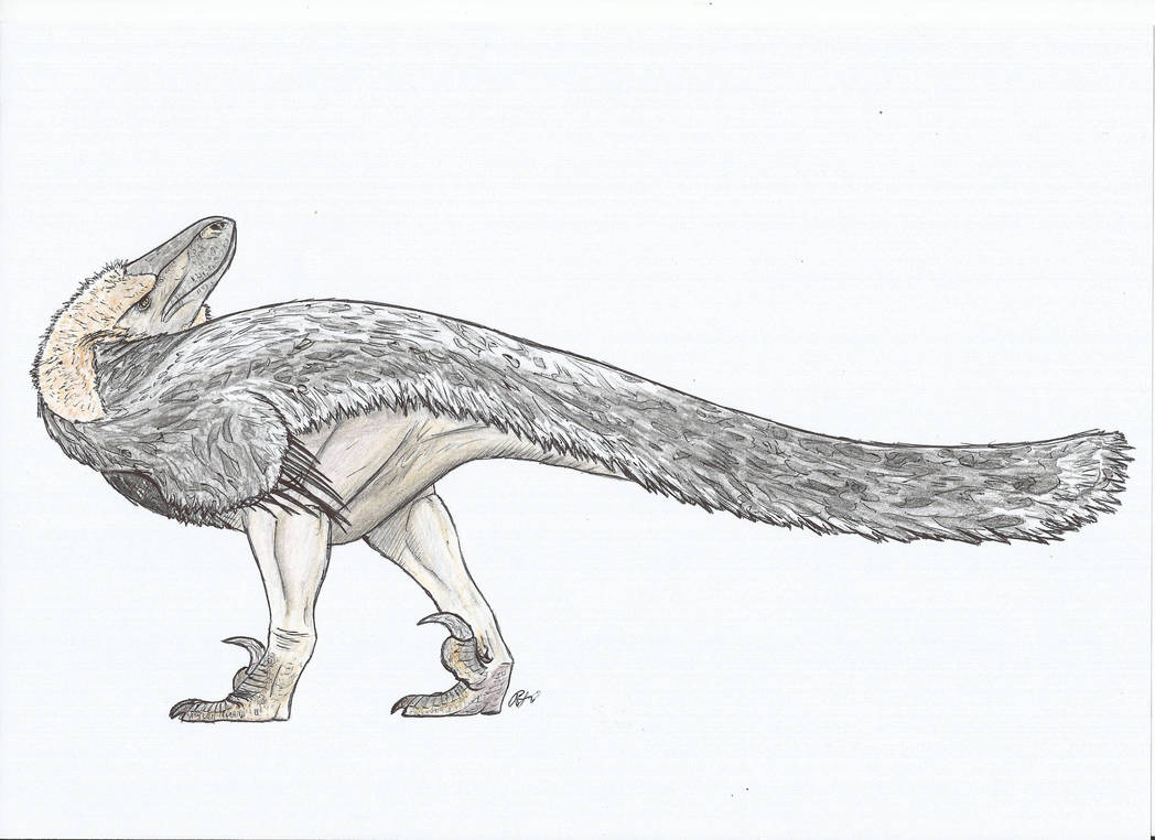 hmmm Utahraptor by PhanerozoicWild