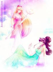 Neo Princess Jupiter and Venus by Axsens
