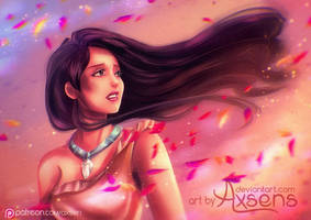She goes wherever the wind takes her by Axsens