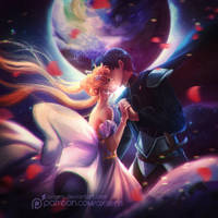 Moon Kiss by Axsens