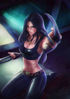 X-23.nsfw optional. by Axsens