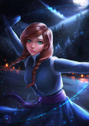 Anna Olaf's Frozen Adventure by Axsens