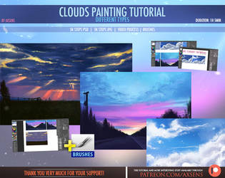 Clouds Painting Tutorial by Axsens