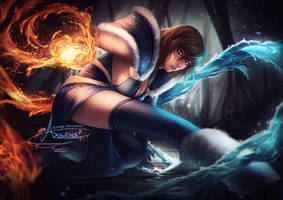Short Haired Korra.nsfw opt. by Axsens