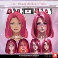 Light Source on Head Tutorial by Axsens