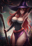 Sorceress  :18+ optional: by Axsens