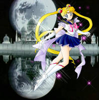 Princess Sailor Moon by AquaRing