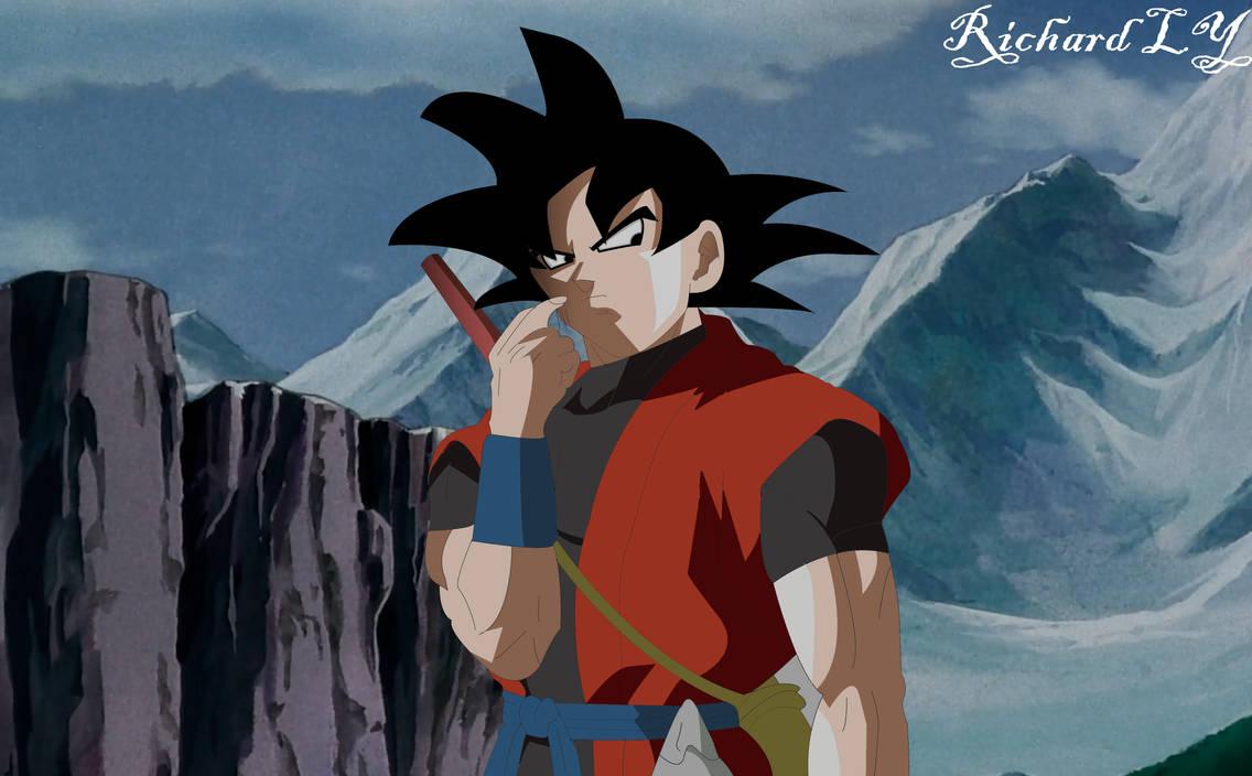 Xeno Goku Teleport No Edits By Lordyrichard616 On Deviantart