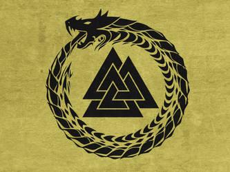 Flag of the Viking Kingdom by Lordnarunh